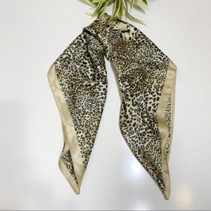 Tongshi Accessories - Scarf Animal Print Square